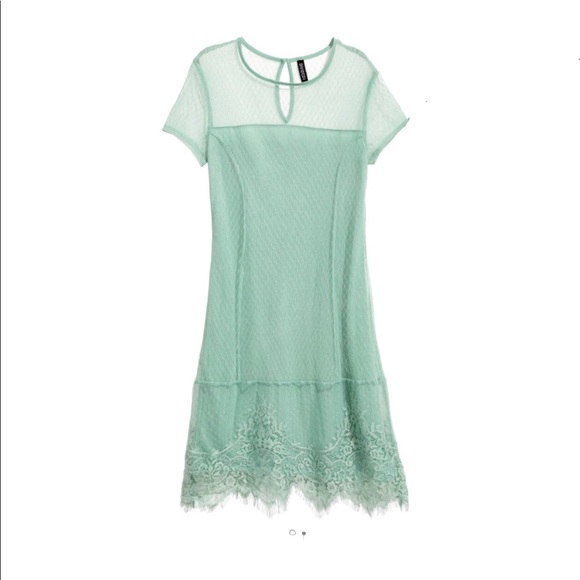 cf2aac3a81c Pistachio Green Lace Dress ~perfect for Easter 🐣
